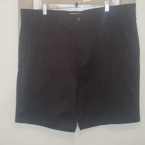 Men's Black Dress Shorts